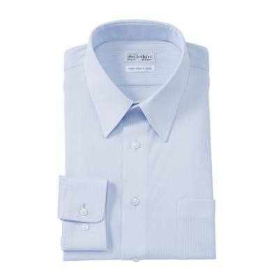 ノーアイロン長袖ストレッチiシャツ ドビーストライプ(レギュラーカラー)アイシャツ (ワイシャツ)Shirts,