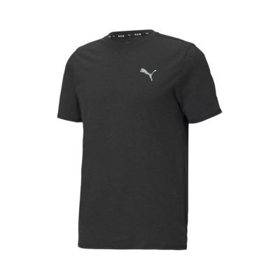 【プーマ】 ランニング ヘザー 半袖 Tシャツ メンズ PUMABLACKHEATHER XL PUMA