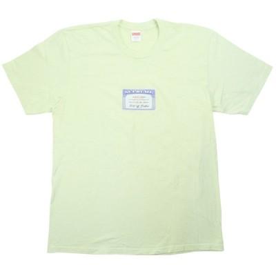 シュプリーム SUPREME 20SS Social Tee Tシャツ ライムグリーン Size【L】 【中古品-良い】【中古】