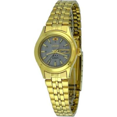 腕時計 オリエント Orient FNQ0400FK レディース 3 Star ゴールド トーン グレー ダイヤル Self Wind オートマチック 腕時計