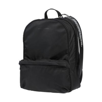 CALVIN KLEIN x ANDY WARHOL バックパック&ヒップバッグ ブラック 革 / 紡績繊維 バックパック&ヒップバッグ