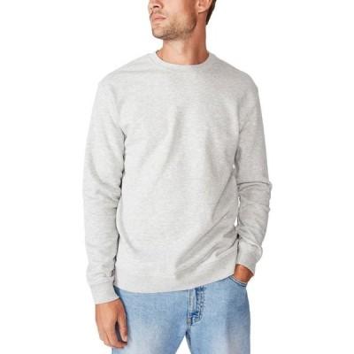 コットンオン メンズ ニット・セーター アウター Men's Essential Crew Fleece