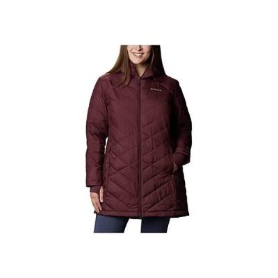 コロンビア Plus Size Heavenly Long Hooded Jacket レディース コート アウター Seminole
