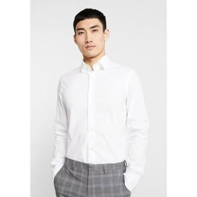 ジースター シャツ メンズ トップス CORE SUPER SLIM - Shirt - white