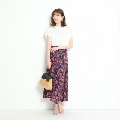 マイストラーダ(Mystrada)/シフォンジャガード切り替えスカート