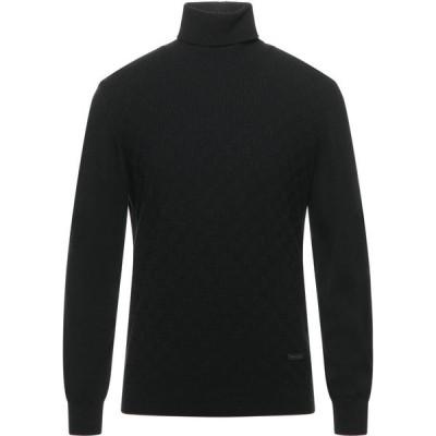 アレッサンドロ デラクア ALESSANDRO DELL'ACQUA メンズ ニット・セーター トップス Turtleneck Black