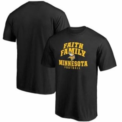 NFL Pro Line by Fanatics Branded エヌエフエル プロ ライン スポーツ用品  NFL Pro Line Minnesota Vikings Black Fa