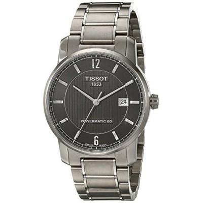 ティソ Tissot 腕時計 メンズ 時計 TISSOT watch Titanium Powermatic 80 T0874074405700 Men's [regular imported goods]