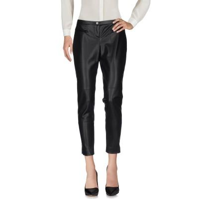 リュー ジョー LIU •JO パンツ ブラック 44 100% ポリエステル パンツ
