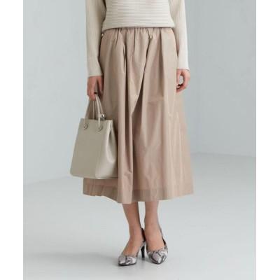 green label relaxing / CS メモリー タフタ ギャザー スカート WOMEN スカート > スカート