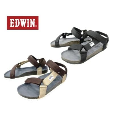 【EDWIN】 エドウィンメンズカジュアルサンダルew9182