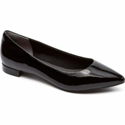 ロックポート ROCKPORT レディース スリッポン・フラット シューズ・靴 Total Motion - Adelyn Ballet Flat Black Patent Leather