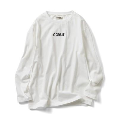 カリフォルニアコットンの大人ロゴTシャツの会 IEDIT[イディット] フェリシモ FELISSIMO