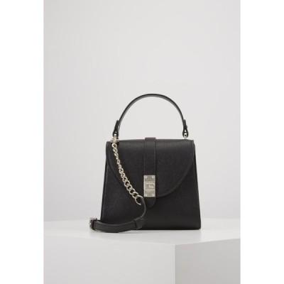ゲス ハンドバッグ レディース バッグ NEREA TOP HANDLE FLAP - Handbag - black