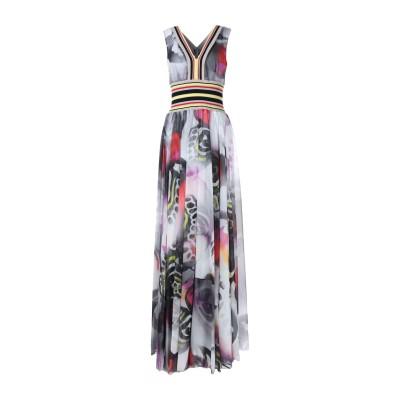 ALTEЯƎGO ロングワンピース&ドレス グレー 40 ポリエステル 100% ロングワンピース&ドレス