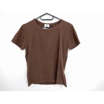 ピッコーネ PICONE 半袖Tシャツ サイズ38 S レディース ブラウン【還元祭対象】【中古】