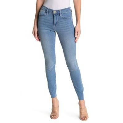 フレーム レディース デニムパンツ ボトムス Le High Raw Edge Skinny Jeans EUROPA