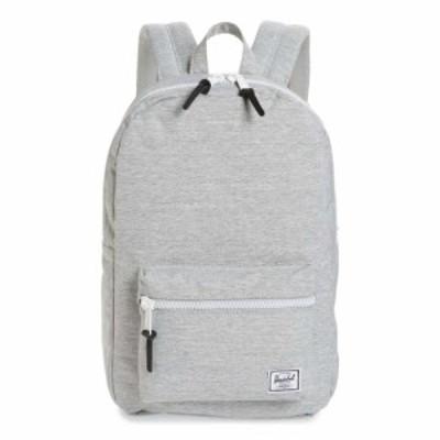 ハーシェル サプライ HERSCHEL SUPPLY CO. レディース バックパック・リュック バッグ Settlement Mid Volume Backpack Light Grey