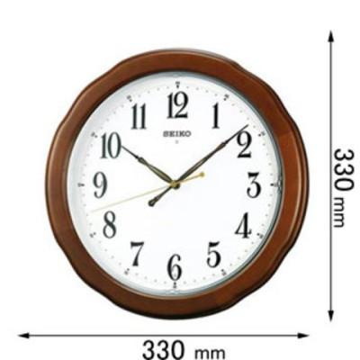 【SALE】時計 掛け時計 セイコータイムクリエーション 電波掛け時計  KX326B 【返品種別A】