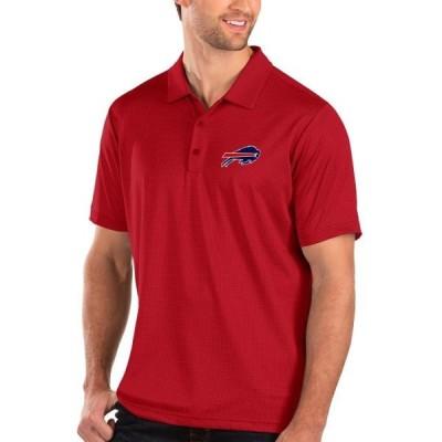 ユニセックス スポーツリーグ フットボール Buffalo Bills Antigua Balance Polo - Red Tシャツ
