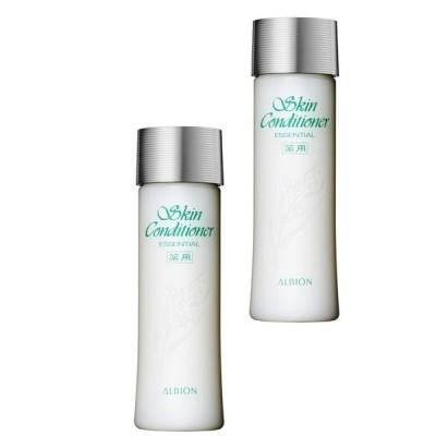 2個セット ALBION アルビオン 薬用スキンコンディショナー エッセンシャル 330ml ×2セット 化粧水 ローション 敏感肌用 低刺激 スキコ