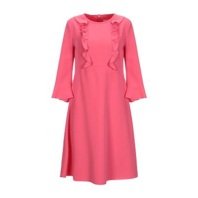 SFIZIO ミニワンピース&ドレス フューシャ 40 ポリエステル 72% / レーヨン 23% / ポリウレタン 5% ミニワンピース&ドレス