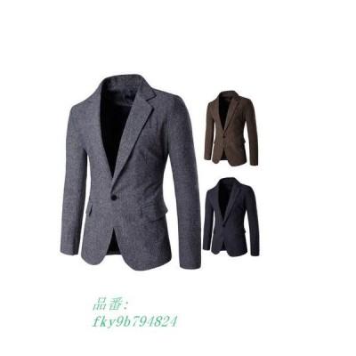 スーツ メンズ ジャケット 無地 宴会 ノッチドラペル フォーマル 紳士 入学式 背広 シンプル テーラードジャケット 結婚式 オールシー ビジネス