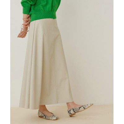 ADAM ET ROPE' / ヴィーガンレザースカート WOMEN スカート > スカート
