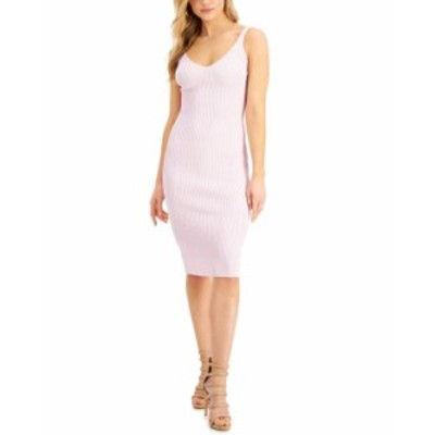 ゲス レディース ワンピース トップス Nyx Sleeveless Ribbed Midi Dress Lavender Hush