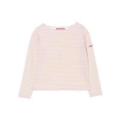 (Maison de FLEUR Petite Robe/メゾンドフルール プチローブ)【ムック本掲載】フレンチボーダープルオーバー/レディース ピンク