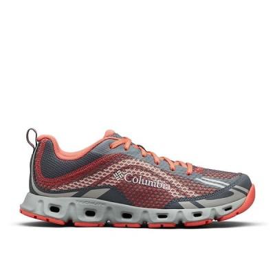 コロンビア Columbia Footwear レディース ランニング・ウォーキング シューズ・靴 Columbia Drainmaker IV Shoe Graphite/Red Coral