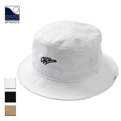 OFFSHORE オフショア バケットハット メンズ レディース ブランド おしゃれ 深め 春 夏 帽子 ロゴ サーフ サーフブランド 白 黒