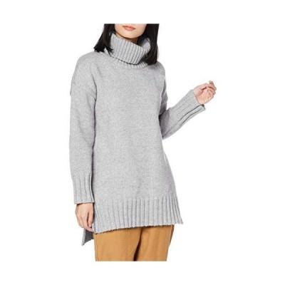 [アツギ] セーター UNCLOSE (アンクローズ) ハイネックセーター スリット入り レディース 47151NS ブルーグレー 日本 フ