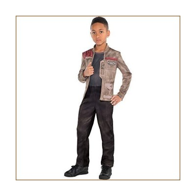 Costumes USA Star Wars 7: The Force Awakens Finn Costume for Boys, Size Medium, Includes a Jumpsuit and Attached Jacket【並行輸入品】