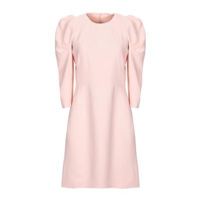 ジェニー GENNY ミニワンピース&ドレス ピンク 44 レーヨン 63% / アセテート 34% / ポリウレタン 3% ミニワンピース&ドレス
