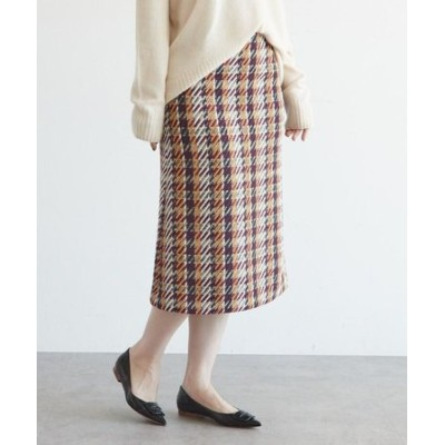 カルゼミックスツイードスカート