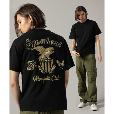 tシャツ Tシャツ 【WEB限定】フィフス エアフォース 刺繍 Tシャツ/EMBROIDERY FIFTH AIR FORCE T-SHIRT
