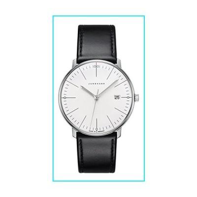Junghans Max Bill Quarz Date White Dial Wrist Watch 041/4817.00【並行輸入品】