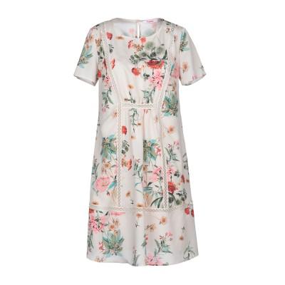 ブルーガール ブルマリン BLUGIRL BLUMARINE ミニワンピース&ドレス ベージュ 42 100% ポリエステル ミニワンピース&ドレス