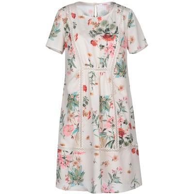 ブルーガール ブルマリン BLUGIRL BLUMARINE ミニワンピース&ドレス ベージュ 38 100% ポリエステル ミニワンピース&ドレス