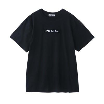 MILKFED. / BAR WAPPEN S/S TEE WOMEN トップス > Tシャツ/カットソー