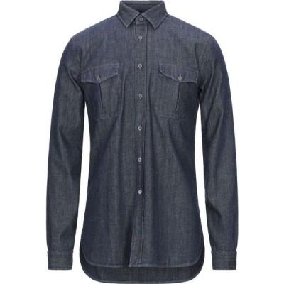 ザカス XACUS メンズ シャツ デニム トップス denim shirt Blue