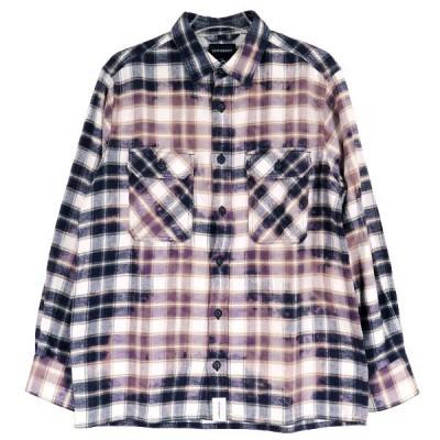 DESCENDANT ディセンダント 19S/S MOSS CHECK LS SHIRT モスチェックシャツ