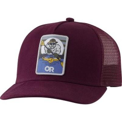 アウトドアリサーチ メンズ 帽子 アクセサリー Squatchin' Trucker Cap Burgundy