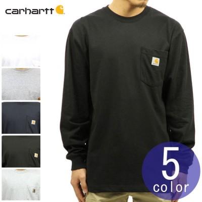 カーハート Tシャツ メンズ CARHARTT 正規品 無地 長袖 ポケット WORKWEAR POCKET LONG-SLEEVE T-SHIRT K126