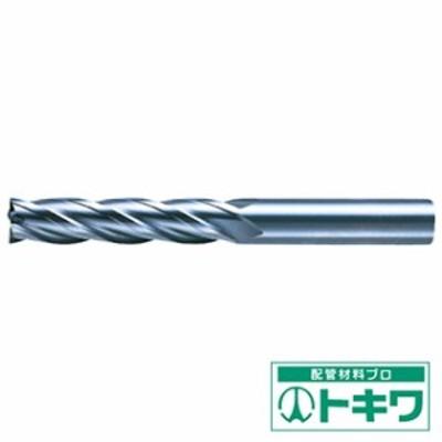 三菱K 4枚刃センタカット ハイススクエアエンドミルロング刃長(L)3mm 4LCD0300 ( 1095421 )