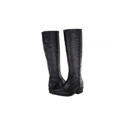 Frye フライ レディース 女性用 シューズ 靴 ブーツ ロングブーツ Billy Inside Zip Tall - Black Full Grain Leather