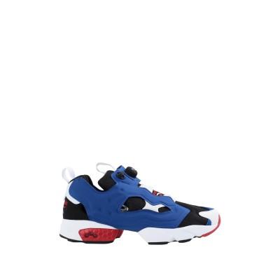 リーボック REEBOK スニーカー&テニスシューズ(ローカット) ブルー 5 紡績繊維 スニーカー&テニスシューズ(ローカット)