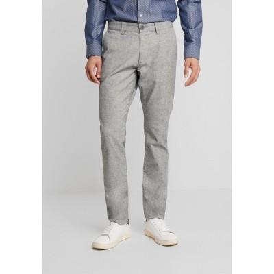 エスプリ カジュアルパンツ メンズ ボトムス BRUSHED - Trousers - grey