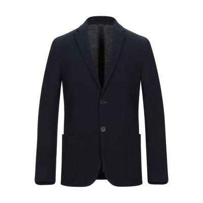 フェンディ FENDI テーラードジャケット ダークブルー 50 バージンウール 85% / ナイロン 13% / ポリウレタン 2% テーラードジ